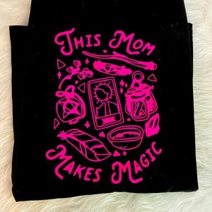 This mom makes magic witchy shirt